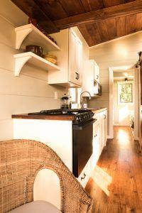 Tiny house kitchen by Timbercraft Tiny Homes