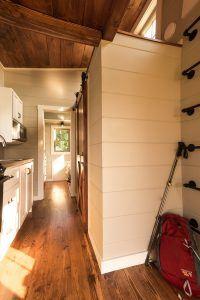 Tiny house interior by Timbercraft Tiny Homes
