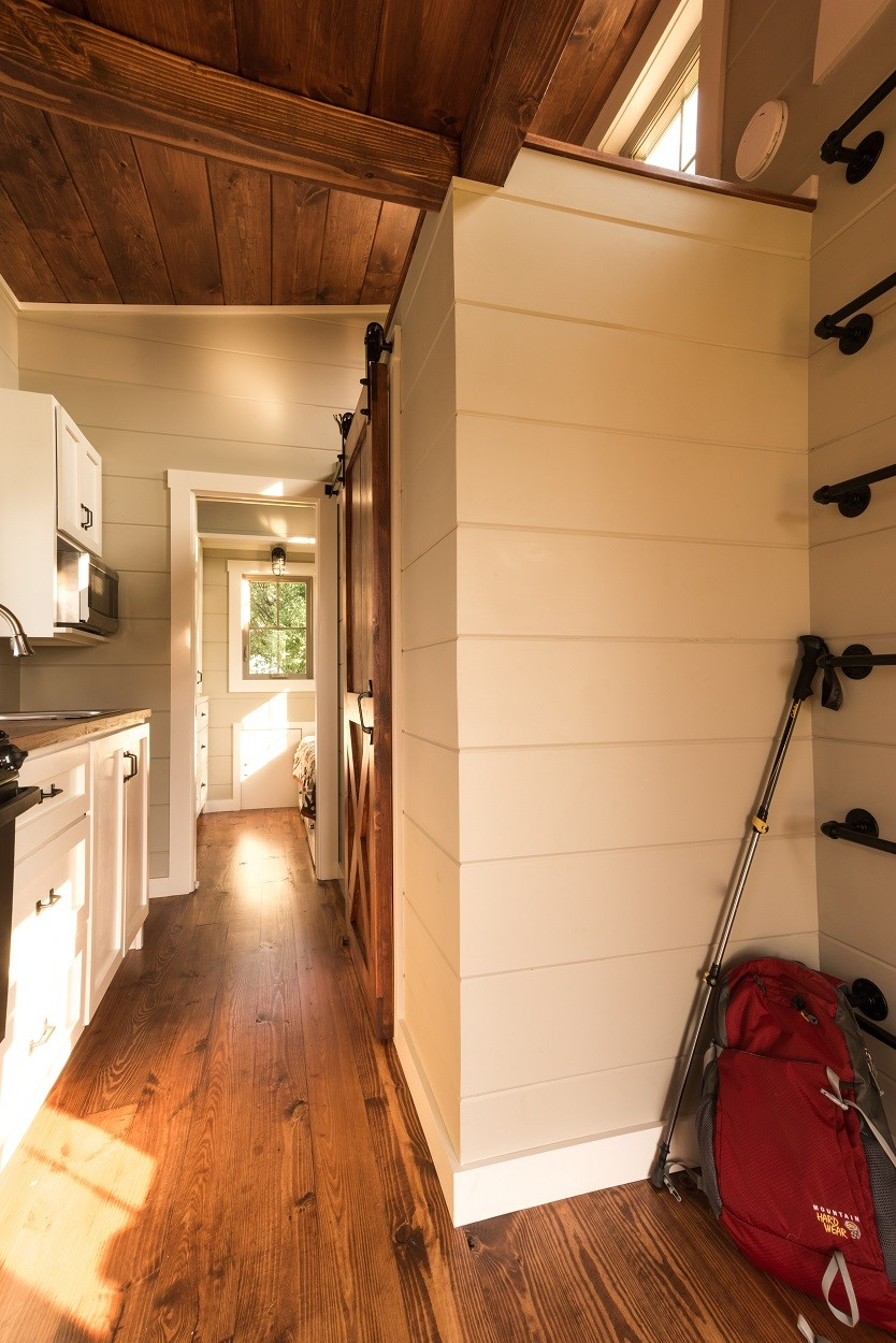 Tiny house interior by Timbercraft Tiny Homes