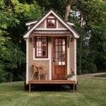 Tiny house on wheels light by Timbercraft Tiny Homes