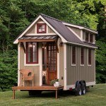 Tiny house on wheels by Timbercraft Tiny Homes