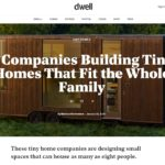 Timbercraft Dwell article