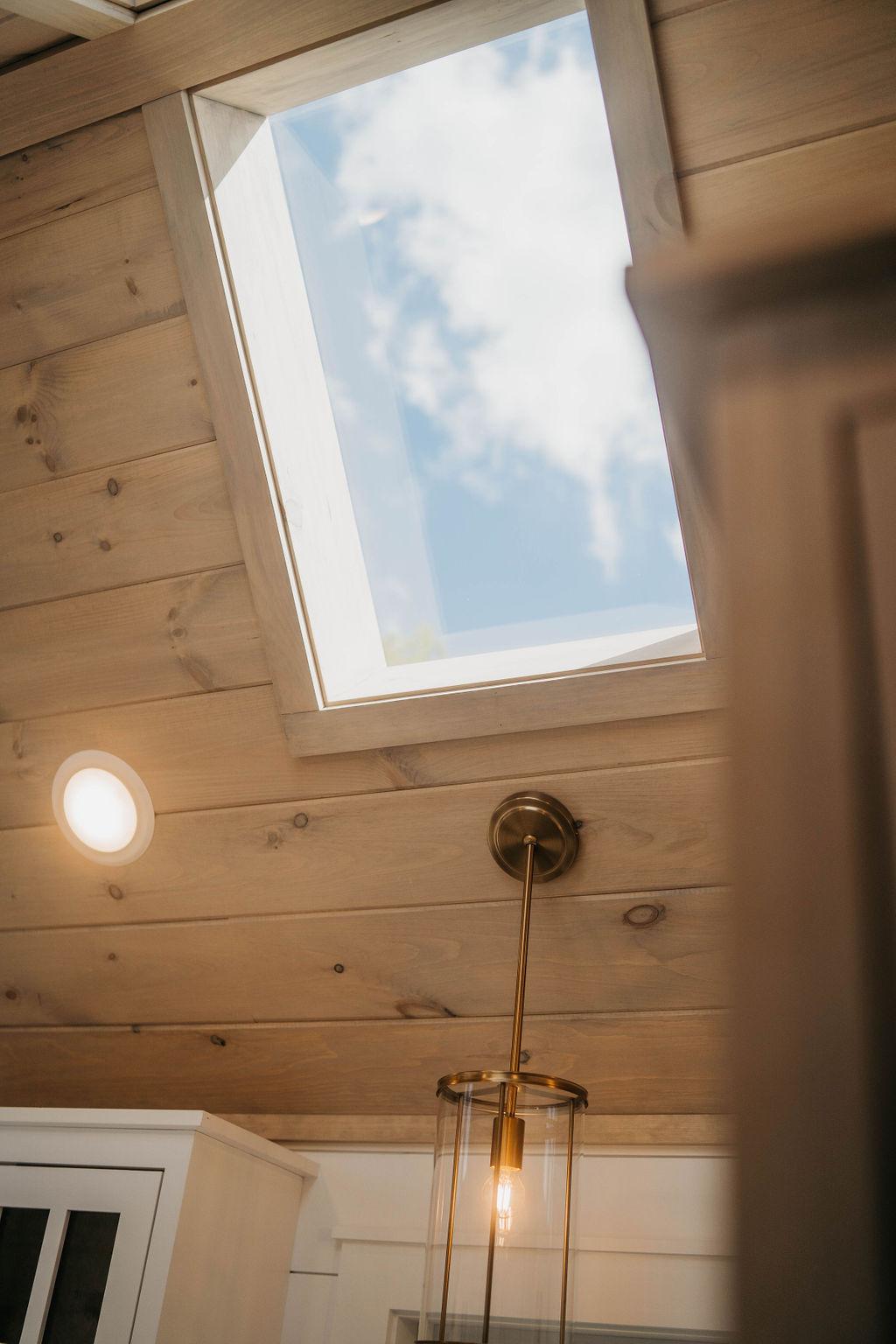 Tiny house skylight